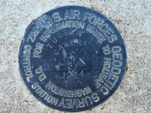 Top view of TUCSON CAMERA marker
