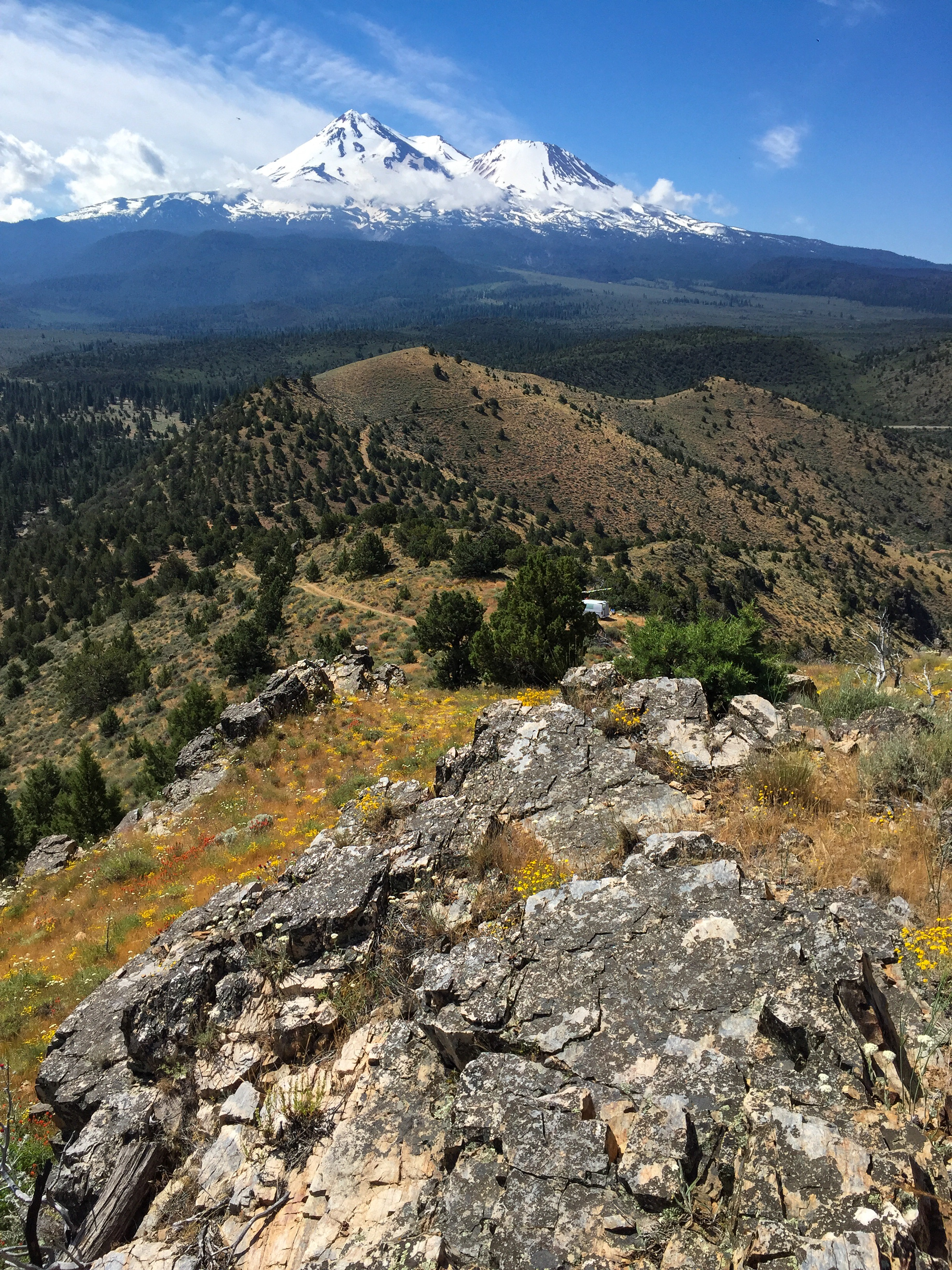 Yellow Butte, Siskiyou County, CA | Mental Scraps